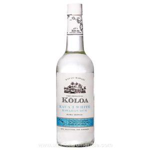 Koloa Kauai Hawaiian White Rum