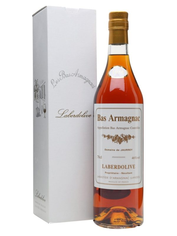 Laberdolive Bas Armagnac Vintage 1986 - Sendgifts.com