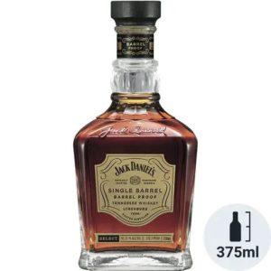 "Jack Daniel's ""Barrel Proof"" Single Barrel Tennessee Whisky 375 ml - Sendgifts.com"
