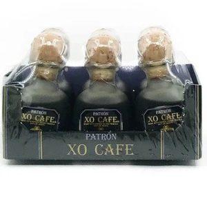 Patron XO Cafe Liqueur 6 x 50 ml bottles - Sendgifts.com